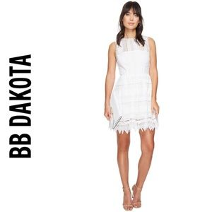 BB Dakota White Elissa Lace Dress